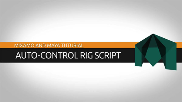 3D Animation Software Tutorial: Maya Auto-Control Rig Script