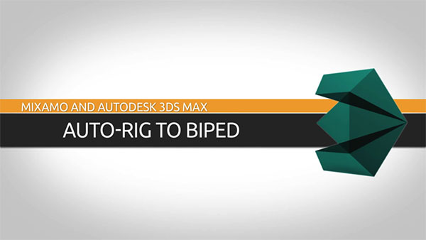 3D Animation Software Tutorial: Convert an Auto-Rigged Character to 3ds Max Biped
