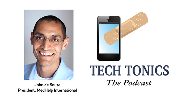 Tech Tonics: John de Souza, Meant for Medicine