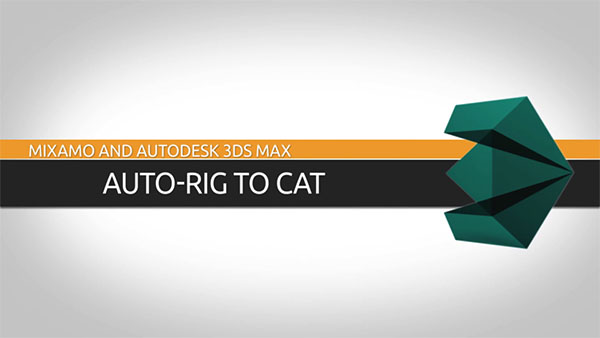 3D Animation Software Tutorial: Convert an Auto-Rigged Character to 3ds Max CAT